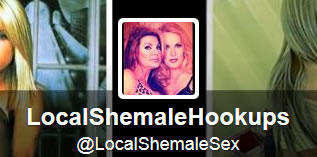 My favorite twitters: Local Shemale Sex Twitter